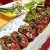 【ご飯なし稲荷寿司】なまり節の梅和えサラダ稲荷/フェタチーズとなまり節のオムレツ