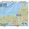 2016年07月21日 02時57分 若狭湾でM2.8の地震