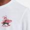 ピザの配達員がプリントされたナイキのTシャツ。