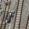 9月29日長野新幹線車両センターと新幹線車両の避難システムの訓練