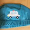 100均水泳帽にもアイロンでネームラベルがつけられます♪