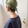 夏のまとめ髪♥編みおろしアレンジ&ゴムを使ったねじねじ1本アレンジヘア