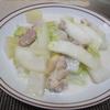 大根と白菜と鶏もも肉のクリーム煮