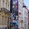 ブリュッセルの壁に 豪華アーティスト