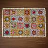 編み図|モチーフ繋ぎのドイリー
