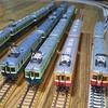 架空の鉄道、京電の紹介です。