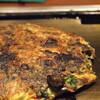 ●大阪梅田「ねぎ焼きやまもとエスト店」のすじねぎ・豚肉天