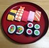 5歳児ゆうゆうのクマ寿司屋さんの出前ごっこ その2 より。