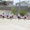 チャレンジ運動会⑱ 5年生 徒競走