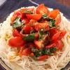 ミニトマト大量消費に、飲み干したくなるこのうま味「つぶしトマトと青じそのマリネそうめん」【メシ通の冷たい麺】