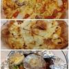 鴨居【イタリアンステーキハウス Gaston&Gaspar ららぽーと横浜店】シチリアの漁師のピザ ¥1680+ミラノのチーズ屋のピザ ¥1680+スペシャル煮込みハンバーグ&ライス ¥1780(全て税別)