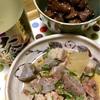 昨夜の晩ごはん【牛スジ煮込みと鶏肝煮とちゃんぽん】