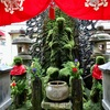 【大阪】苔むした水掛不動さんに会いに。ミナミの繁華街の路地にたたずむ法善寺(御朱印)