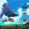 ポケモン サン&ムーン 33話「ヨワシ強し、池のぬし!」