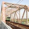 花見ラン4回目、大川沿い、開通したばかりのおおさか東線に初乗車!