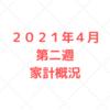 【家計管理 結果 検証】2021年4月 第二週 家計概況