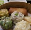 中華粥と具がぎっしりの点心を、新橋でリーズナブルに@花茶坊