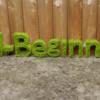 Blender 238日目。「ツル状のアニメーションテキスト」その2。
