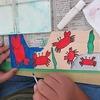 6年生:図工 テープカッターづくり