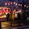 写真作品「横浜大岡川の桜まつり 露店編」 #桜