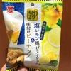岩塚製菓 大人のおつまみ 米粉でできた塩レモン揚げスティック&味付けピーナッツ 食べてみました