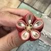 つまみ細工   丸つまみ 4重の梅の作り方   公開します✨