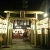 光り輝く神社☆