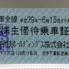 No.42 相模鉄道 株主優待乗車証(乗車記念印)