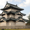 弘前城(日本百名城第4番・現存天守・重要文化財)