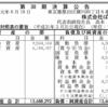 株式会社ぱぱす 第30期決算公告
