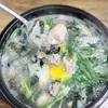 【麻浦】優しいお味の牡蠣クッパ&石焼ビビンパ@김명자/キムミョンジャ