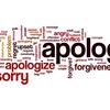Apology - お詫び