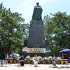 坂本龍馬像建立90周年でお祝い演奏をしました