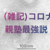 (雑記)コロナ→勉強はかどる→親塾最強?