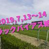 2019,7,13~14トラックバイアス結果 (福島競馬場、中京競馬場、函館競馬場)