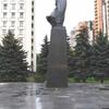 ウクライナ旅行[59](2019年5月) キエフの観光スポット:レーシャ・ウクライーンカ像