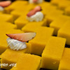ケーキが造るギザギザ模様