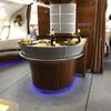 2019GWアジア旅行【8】〜Emirates A380のビジネスクラス・機上のバーカウンターはすごかった〜
