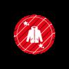 KANGOL REWARDコラボ企画第3弾・コラボパーカー「RED」
