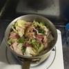 白菜と豚バラ肉