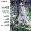 スウェーデンの女流作曲家ヘレーナ・ムンクテルの作品集! 代表作『10の歌曲』、ヴァイオリン・ソナタなどを録音