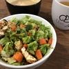 焼き豆腐のサラダ