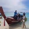 10月15日家族旅行 ランカウイ島からフェリーでタイのリペ島へ