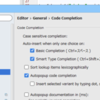 PhpStormで、コード補完時に大文字小文字の区別をしない