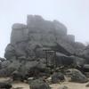 百名山2座目は雨の金峰山