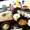 お花見からのいわし天鮨・北海道そば(外食)