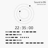 モールス信号の音で時刻を知らせる時計のプログラム