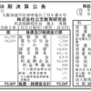 株式会社公文教育研究会 第58期決算公告