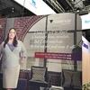 欧州糖尿病学会には、サクセンダ、展示がありました。