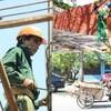 Bảo vệ sức khỏe người lao động khi làm giữa trời nóng mùa hè.